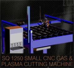 CNC Gas Plasma cutting